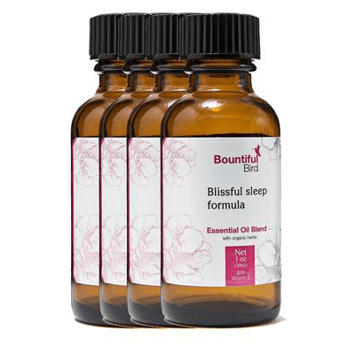 Blissful Sleep Bountiful Bird Essential Oil with Ylang Ylang, tangerine and lavender oil