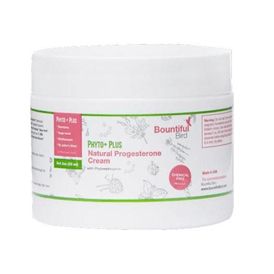 2oz Bountiful Bird Phyto Plus Natural Progesterone Cream
