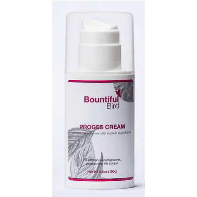 Bountiful Bird Natural Bioidential Progesterone Cream with herbal organic ingredients