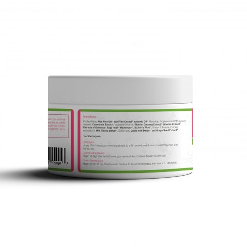 4oz Bountiful Bird Phyto Plus Natural Progesterone Cream