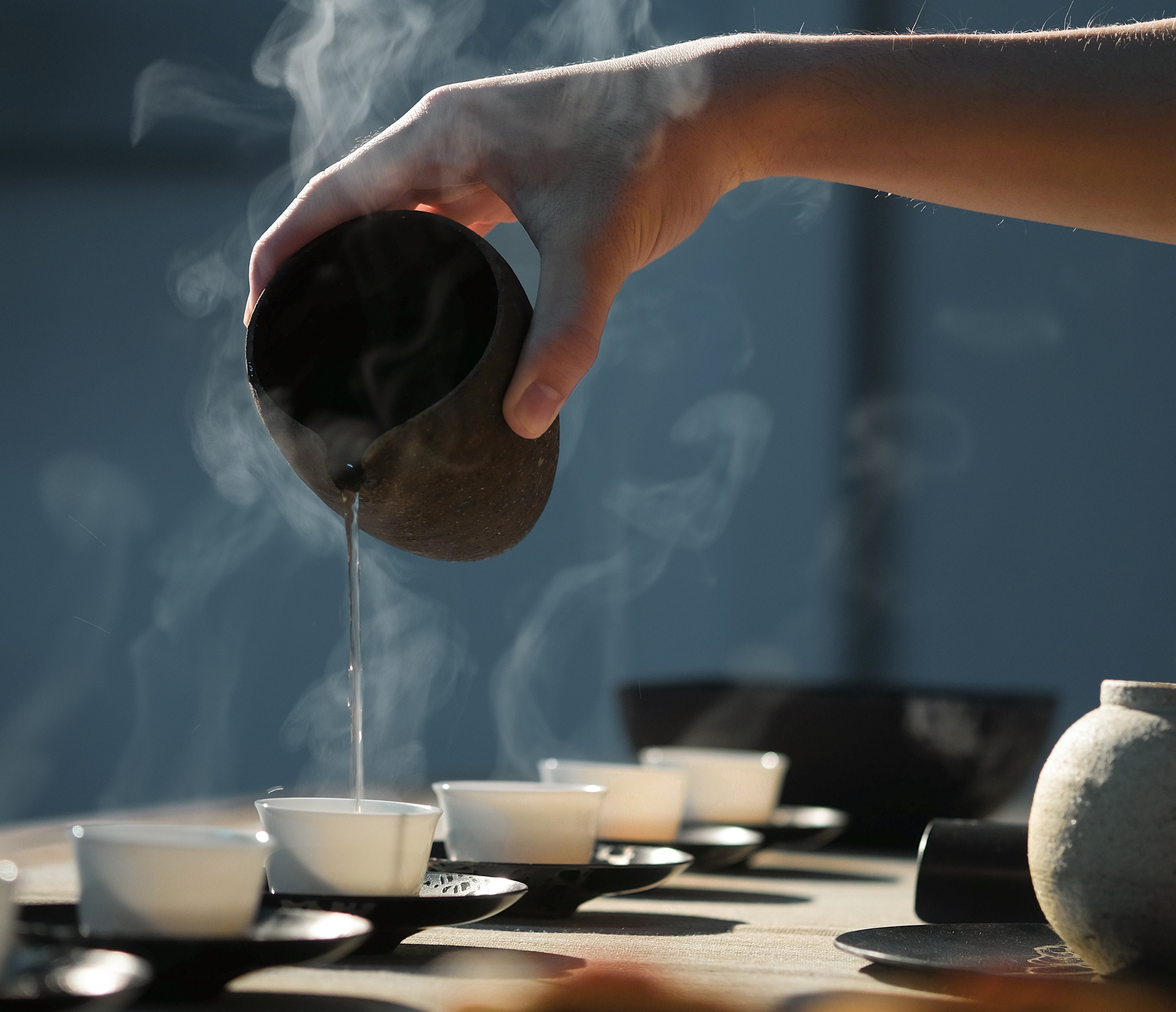 Tea ceremony for mindfulness